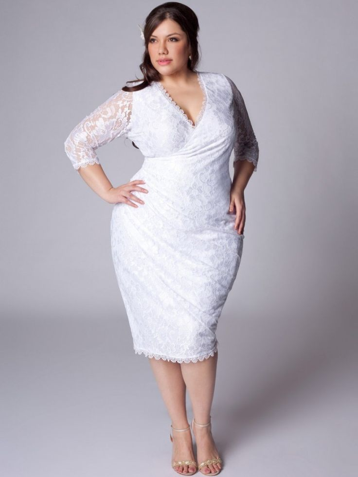 Cute White Plus Size Party Dresses White Plus Size Party Dresses