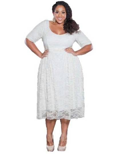 Cute_cheap_white_plus_size_lace_dresses_2014