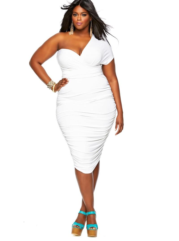 a plus size dress