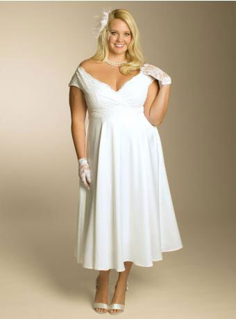 plus-size-informal-wedding-dress